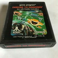 Demons To Diamonds / Cart Only / Atari 2600 / Tested & Working / 7800 / PAL #2