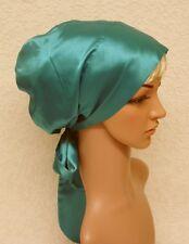 Satin bonnet for long hair, head snood, sleeping cap, satin hair wrap, tichel
