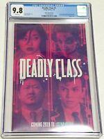 Deadly Class #1 SDCC 2018 Cast Photo Variant CGC 9.8 NM/MT 1st Print Image 2013