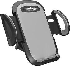 Beam Electronics Universal Smartphone Car Air Vent Mount Holder Cradle Gray