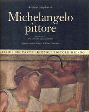L'OPERA COMPLETA DI MICHELANGELO PITTORE  CAMESASCA ETTORE  RIZZOLI 1966