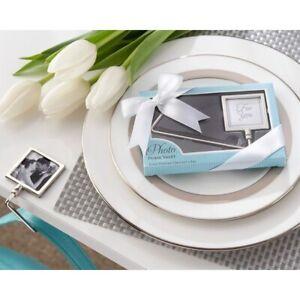 FOLDING PURSE HANDBAG HOOK ADD A PHOTO GIFT TABLE HOLDER SECRET SANTA BOXED