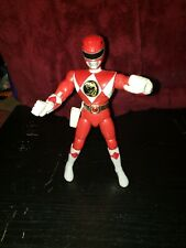 "Red Ranger Jason Vintage Power Rangers 8"" Action Figure 1993 Bandai MMPR"