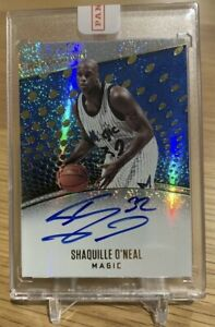 2017-18 Revolution Sealed Redemption Shaquille O'Neal Auto!!!