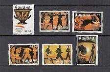 OLYMPICS/BARCELONA - Guyana  - 1989 set of 6 - (SC 2228-33)-MNH-B974