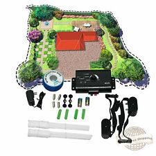 New listing Electric Dog Fence System 2 Water Resistant Shock Collars