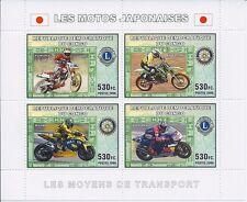 Congo 2006 - Auto Racing Rally Japanese Motorcycle Sports - MNH