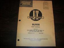 Original Oliver Super 99gmtc 950 990 995 Tractor I Amp T Shop Service Manual