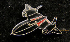 SR-71 BLACKBIRD LAPEL PIN US AIR FORCE SKUNK WORKS NASA EDWARDS AFB MACH 3