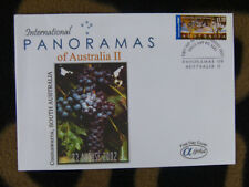 SCARCE ALPHA FIRST DAY COVER - 2002 AUSTRALIAN PANORAMAS II. COONAWARRA