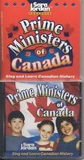 Prime Ministers of Canada (CD and book) (Songs That Teach History)-ExLibrary