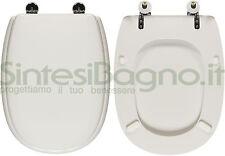 Toilet Seat SintesiBagno MADE for Pozzi Ginori WC EASY/EASY 2 series. OVAEASY2