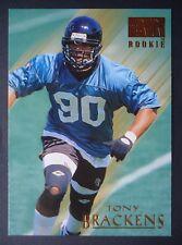 NFL 184 Tony Brackens College Texas Rookie SkyBox Premium 1995