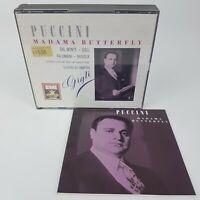 Puccini MADAMA BUTTERFLY 2 CD box (1989) EMI Dal Monte Gigli Palombini Basiola