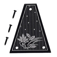 Aluminum Alloy Truss Rod Cover for Jackson Electric Guitar Parts
