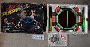 Lansay Flashball - Jeu Electronique en boite 1988 - Ping Pong Lumière -bien lire
