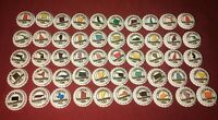Complete Set of 50 US States Beer Bottle Caps Free Ship