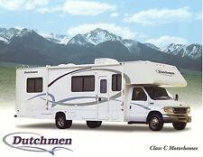 Prospekt brochure USA Four Winds Dutchmen Motorhome 2003 Reisemobil Wohnmobil
