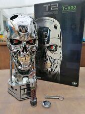 Terminator 2 Endoskull chrome T-800 life size Sideshow