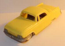 OLD MADE IN WEST GERMANY 1960 CADILLAC JAUNE 1/43 no box