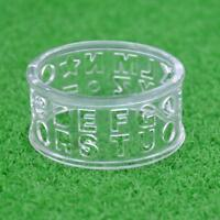 Plastic Letter Golf Ball Liner Marker Template Drawing Alignment Tool Aids