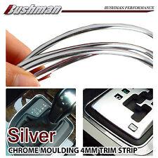 Interior Dash Board Moulding Trim Strip Gauge Car 300cm Silver Chrome For Toyota