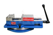 Shars 6 X 7 12 Lockdown Cnc Milling Machine Vise Withbase Certificate New R