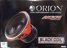 "ORION HCCA152 Black Coil 15"" 2500W RMS DVC DUAL 2 OHM CAR AUDIO SUB WOOFER"