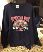 Vintage Mens Chicago Cubs 1998 Opening Day Sweatshirt XL Limited To 500