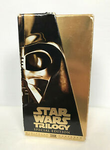 Disney Star Wars Trilogy Special Edition VHS Movie Box Set R4 PAL AUS/NZ
