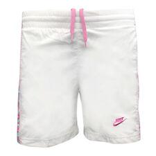 Nike Petite fille Blanc Caleçon Short de bain 218953-100 Ua1 XS
