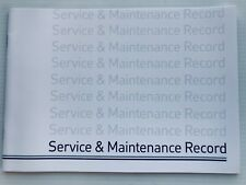 MAZDA Service Book  New Unstamped History Maintenance Record - BLANK
