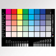 The CMYK Greyscale Card for Designers and Reprographics
