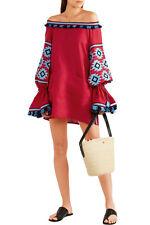 Ukrainian embroidered red dress in boho style - folk ethnic vyshyvanka.All sizes
