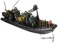 Military Special Operations Combat Dinghy Boat 26 Piece set Pretend Play 1:18