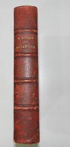 *** NOUVEAUX ELEMENTS DE BOTANIQUE - A. RICHARD - AVEC 380 FIGURES - 1876