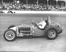 MIKE MOSLEY  AUTOGRAPHED 11 X 14  INDY 500  PHOTO