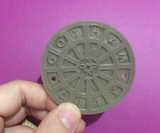 Action Figure Diorama Accessory Batman Gotham City Sewer Manhole Cover 1/12Scale