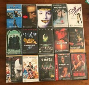 VHS Tapes Bulk Lot of 15