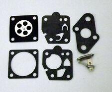 TK1 diaphragm and gasket kit incl needle,lifter and spring Kawasaki , Poulan +++