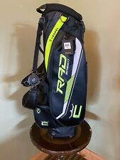NEW Cobra Vessel Rad Speed Stand Bag RED Black and Turbo Yellow