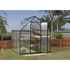 Palram Nature 6 x 6 Greenhouse - Green Frame - Twin-Wall