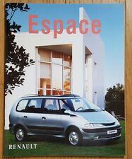 Prospekt / brochure DOCUMENTATION RENAULT ESPACE III - 07/1997 - NEUVE - RARE