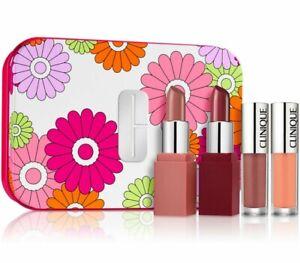 Clinique Plenty Of Pop Lip Colour+ Primer & Splash Lip Gloss+ Hydration Set NEW!