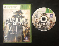 Call of Juarez The Cartel — Cleaned/Tested! Fast Free Shipping! (Xbox 360, 2011)