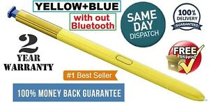 S Pen Touch Stylus For Samsung Galaxy Note 9 YELLOW+BLUE Original SPen USA.