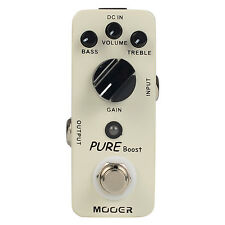 Mooer Pure Boost Guitar Effect Pedal True bypass Micro Series 20 dB Clean Boost