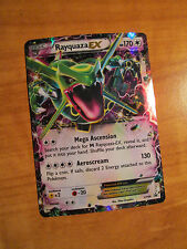 PL RAYQUAZA EX Pokemon Card PROMO Black Star XY66 Set Ultra Rare Box Collection