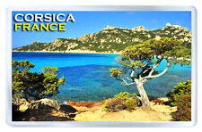 CORSICA FRANCE FRIDGE MAGNET SOUVENIR IMAN NEVERA