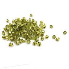 1000pcs Austria Crystal Glass bead 4mm #5301 Bicone beads DIY jewelry make #241